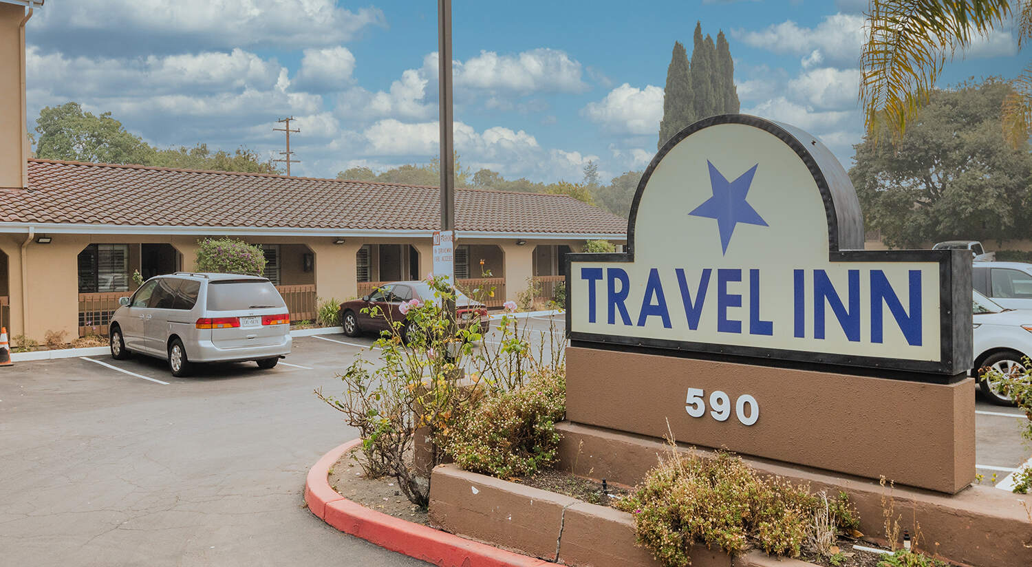 WELCOME TO THE TRAVEL INN SUNNYVALE OFFERING AFFORDABLE LODGING AND EXTENDED STAY IN THE HEART OF SILICON VALLEY